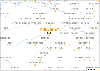 map of Mallerey