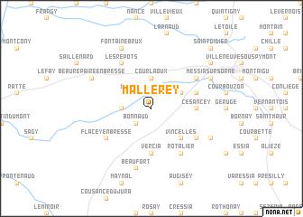 map of Mallerey
