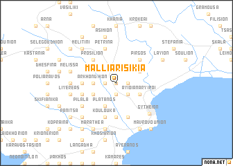 map of Malliarí Sikiá