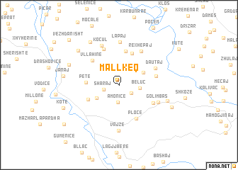 map of Mallkeq
