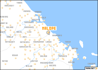 map of Malope