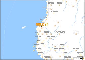 map of Maloya