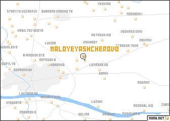 map of Maloye Yashcherovo