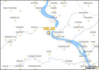 map of Malun