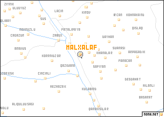map of Malxǝlǝf