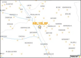 map of Malxǝlǝf