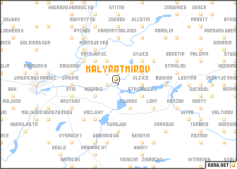 map of Malý Ratmírov
