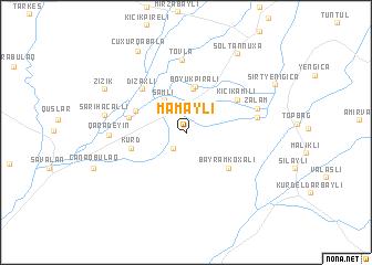 map of Mamaylı