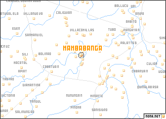 map of Mambabanga