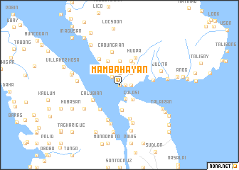 map of Mambahayan