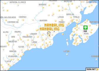 map of Mambaling