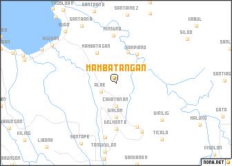 map of Mambatangan