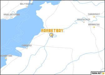 map of Mambetbay