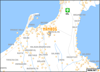 map of Mambog