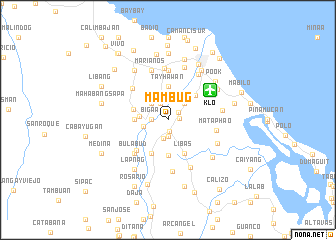 map of Mambug