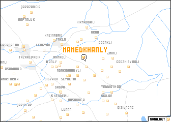 map of Mamedkhanly