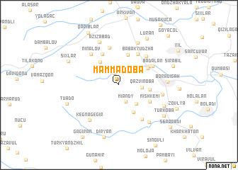 map of Mǝmmǝdoba