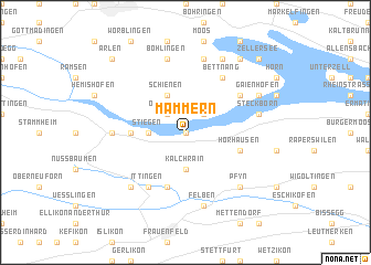 map of Mammern