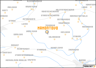map of Mamontovo