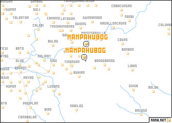 map of Mampahubog