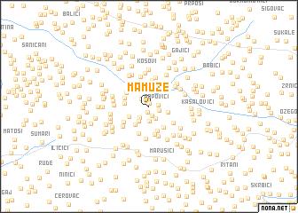 map of Mamuze