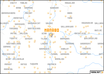 map of Manabo
