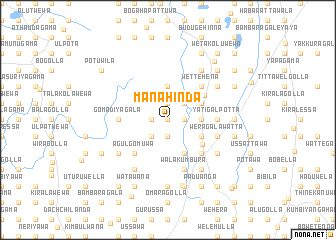 map of Manahinda