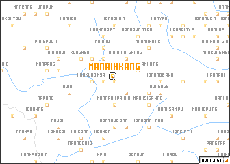 map of Mān Ai-hkang