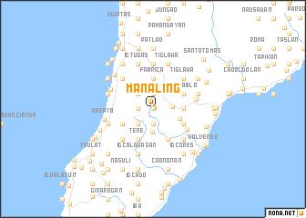 map of Manaling
