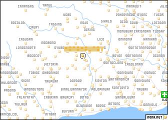 map of Manampunay