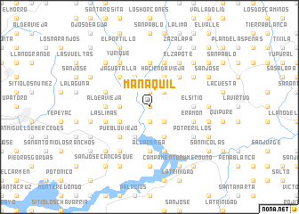 map of Manaquil