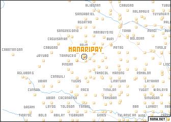 map of Manaripay
