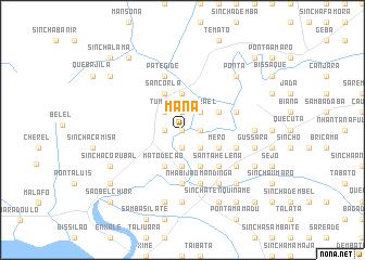 map of Manà
