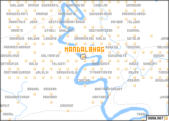 map of Mandalbhāg