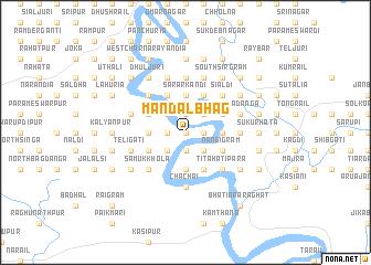 map of Mandalbhāg