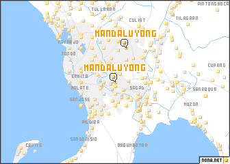 map of Mandaluyong