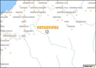 map of Mandaripau