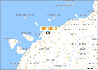 map of Mandaug