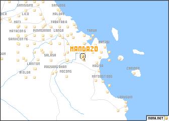 map of Mandazo