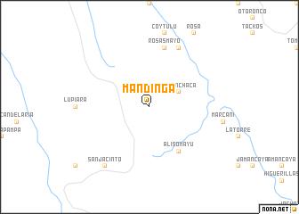 map of Mandinga