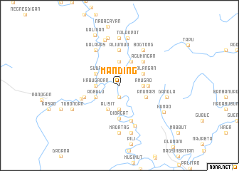 map of Manding
