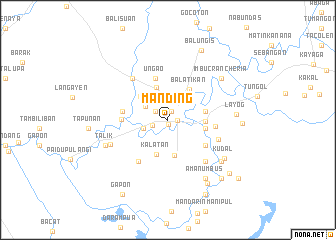 map of Manding