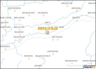 map of Mandiraja