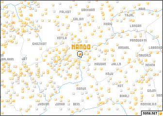 map of Māndo