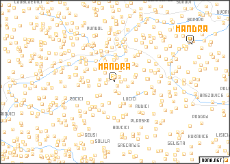 map of Mandra