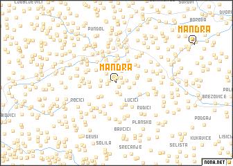 map of Mandra