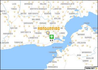 map of Mandurriao