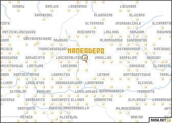 map of Maneadero