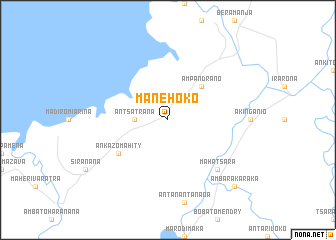 map of Manehoko