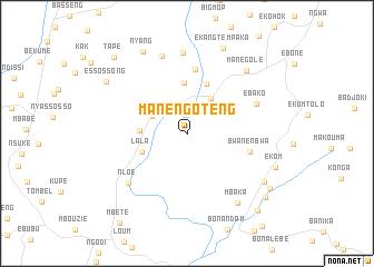 map of Manengoteng